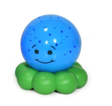Cloud B Octo Colour Changing Nightlight - Blue